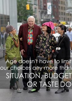 """For those of us in our 40's, 50's, 60's and beyond, developing and evolving our personal style has often meant factoring in what'sage appropriatefor our cohort. But """"age appropriate"""" has come to be a concept that like """"chic"""" has a rather broad, subjective and divergent definition. This wasn't always the case. Up until the last...  Read more »"""