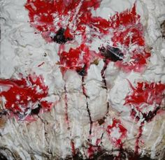 "Saatchi Art Artist Donatella Marraoni; Painting, ""Poppies XXI"" #art"