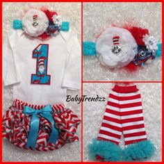 Remake: Leggings  Love the headband Need short sleeved outfit Prefer blue tutu No diaper cover