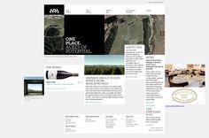 ARA single-estate wines from Marlborough   ARA  http://www.arawines.com/ - #web #design