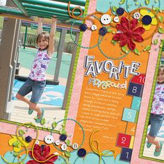 Layout by Tracy K. Love the angles....