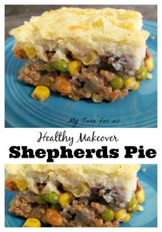 Healthy Makeover Shepherd's Pie has less calories and fat but all the ...