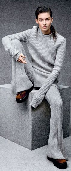 I'm all about cozy and comfortable this winter….just in case it's really cold again.