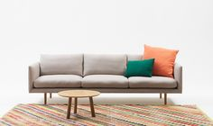 Jardan Nook Sofa, perfect for a snuggle on the couch for Valentine's Day. Furniture Inspiration, Room Inspiration, Furniture Ideas, Jardan Furniture, Outdoor Sofa, Outdoor Furniture, Eclectic Modern, Living Spaces, Living Room