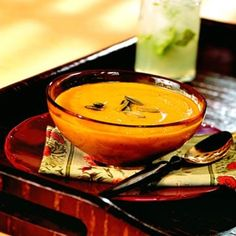 West Indian Pumpkin and Yam Soup Yummy  Delicious Trinidad/West