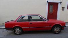 Red 1984 BMW 3 Series (E30) Found in Delphi Greece