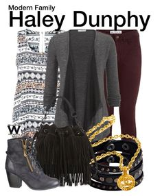 Modern Family by wearwhatyouwatch on Polyvore featuring maurices, Tenki, Rebecca Minkoff, Replay, Chanel, modern, television and wearwhatyouwatch