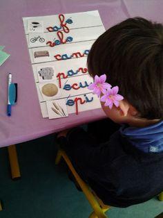 dictée muette - Ateliers Montessori - Galerie - Forums-enseignants-du-primaire