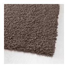 HÖJERUP Teppich Langflor, graubraun