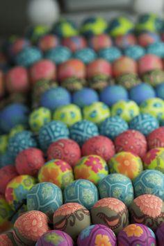 Fresco Clay Beads by JILZARAH
