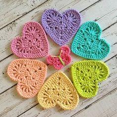 Transcendent Crochet a Solid Granny Square Ideas. Inconceivable Crochet a Solid Granny Square Ideas. Crochet Coaster Pattern, Crochet Motifs, Crochet Squares, Crochet Stitches, Crochet Owls, Crochet Granny, Crochet Appliques, Granny Square Crochet Pattern, Crochet Baby