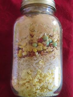 food storage: meals in a jar