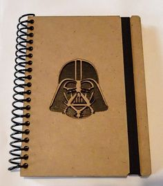 Stars Wars, Wooden notebook, Darth Vader notebook,Custom Notebook,Personalized journal, star wars journal, darth vader, diary, sketchbook, bucket list Journal, small notebook, diary, Sketchbook, gift for her, gift for teachers, girlfriend, friend. Sketchbook writing Writing journal, spiral notebook, cute diary, sketchbook, scrapbook memory book, personalized notebook, draw, create 5x8 **Please read the entire description before ordering***  Need more than one!! please contact us and we will…