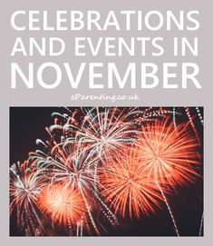 Events, celebrations, saints days, annual campaigns and anything else that is happening in November 2020 in the UK and internationally. Special Days In November, November Holidays, November 2019, National Celebration Days, Monthly Celebration, World Prematurity Day, October Events, Us National Holidays, Christmas Recipes For Kids