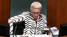 Australians don't take Bishop seriously and won't take the Parliament seriously so long as she's in the chair. Why should they respect an institution run by a woman who so blatantly disrespects them and their money?