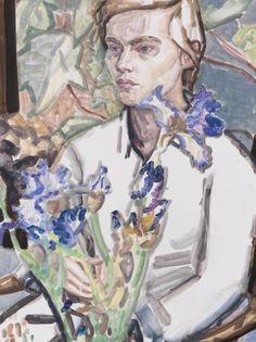 Elizabeth Peyton portrait of Klara Liden