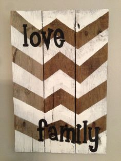 Custom Pallet Sign Hand Painted by LennyandJennyDesigns on Etsy, $40.00