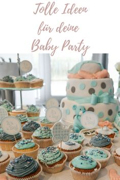 Unsere Babyparty mit Spielen, Cupcakes und Babyboy Great tips and ideas for your baby shower! Baby Shower Activities, Infant Activities, Baby Shower Games, Baby Shower Parties, Baby Boy Shower, Baby Showers, Mother And Baby, Mom And Baby, Our Baby