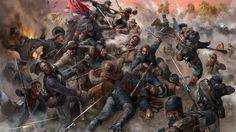 confederate civil war art - Google Search