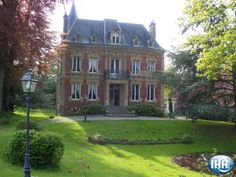 Manor House Bed and Breakfast in Gacé Orne Lower Normandy France.  Guest Rooms: 5 Size of grounds: 2.5 acres Liveable floor area :	6,500 Sq.ft.