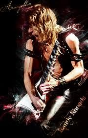 Randy Rhoads - Guitar Player for Ozzy Ozbourne.
