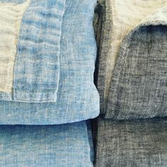 These double linen blankets have a light loftiness about them.  #luxurybedding #linenbedding #linen #makersgonnamake #handmade #madebyme #madeinmaine #portlandmaine