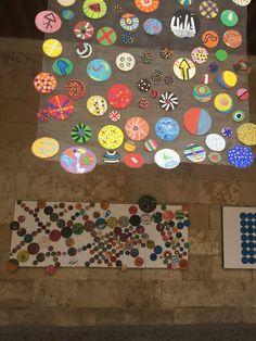 Pinta y Punto. FÁCYL 2018 patio Casa de las Conchas Patio, Home, Shells, Dots, Artists, Blue Prints, Terrace, Porch, Courtyards