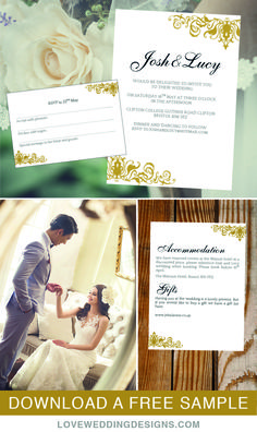 Wedding Invitation Template Beautiful By Loveweddingtemplates  My