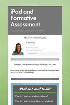 iPad and Formative Assessment