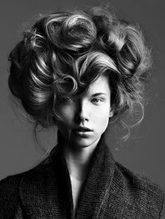 Click to close image, click and drag to move. Use arrow keys for next and previous. Edwardian Hairstyles, Vintage Hairstyles, Pretty Hairstyles, Girl Hairstyles, Wedding Hairstyles, Blonde Balayage Highlights, Pelo Editorial, Gibson Girl Hair, How To Draw Hair