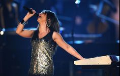 Alicia Keys performs like no one else on the 50th Annual GRAMMY Awards on Feb. 10, 2008