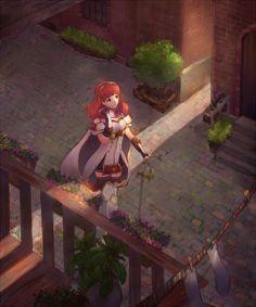 Fire Emblem: Shadows of Valentia - Celica
