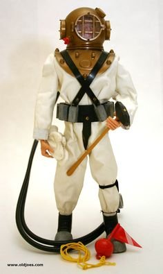 G.I. Joe Deep Sea Diver.  I swear I remember having this; right down to the plastic octopus it came with!