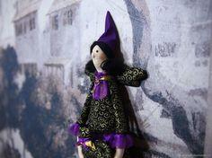 """Купить Кукла тильда """"Феечка"""" ведьмочка для хэллоуина в интернет магазине на Ярмарке Мастеров"""