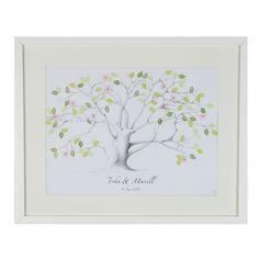 Wedding Tree auf Leinwand 30 x 40 cm