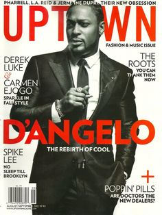 PHOTOSPREADS GALORE: D'Angelo Covers UPTOWN + Estelle Rocks SHEEN + Towanda Braxton's New Photoshoot | The Young, Black, and Fabulous
