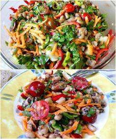 Greek Recipes, Pasta Salad, Salads, Vegetables, Cooking, Ethnic Recipes, Food, Crab Pasta Salad, Kitchen