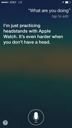Siri questions