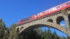 En jernbanebro rett før Notodden.