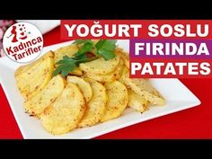 Fırında Yoğurt Soslu Patates Tarifi Videosu   Kadınca Tarifler   Kolay ve Nefis Yemek Tarifleri Sitesi - Oktay Usta