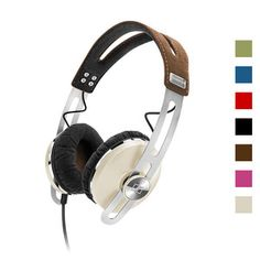 Sennheiser MOMENTUM On-Ear Headphones - available in Pink - Green - Ivory - Blue - Black - Brown - Red