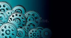 Cogs gears industrial business background. background integration. technology banner background. vector illustration. stock photo Technology Background, Cogs, Integrity, Cyber, Gears, Banner, Concept, Graphic Design, Stock Photos