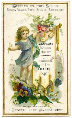 Vintage Graphics - French Ephemera - The Graphics Fairy