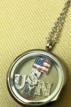Navy Military Locket Order at Origami Owl Website Military Deployment, Military Gifts, Navy Military, Military Spouse, Deployment Gifts, Navy Sister, Navy Girlfriend, Navy Mom, Navy Boyfriend