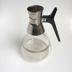 Vintage Chrome Carafe by PowersMod on Etsy