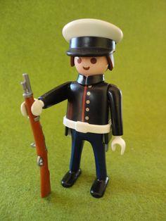 Marines Americain Custom Playmobil Western Soldat | eBay