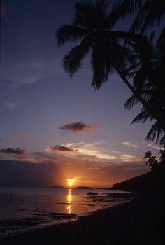 Sunset Beach. - Koh Phangan, Thailand