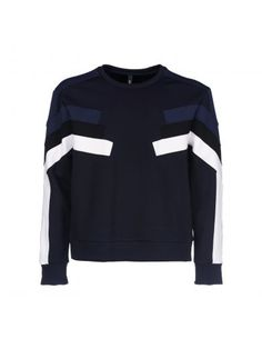 NEIL BARRETT Neil Barrett Panelled Sweatshirt. #neilbarrett #cloth #https: