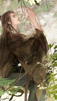 Chinese Drawings, Gothic Fantasy Art, Medieval Fantasy, Final Fantasy, Cool Anime Guys, China Art, Anime Artwork, Boy Art, Funny Art