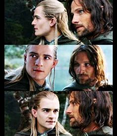 The only love story that mattered in The Lord of the Rings was that of Legolas and Aragorn || this made me LOL!